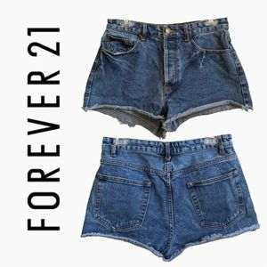FOREVER 21 | HIGH WAISTED SHORTS